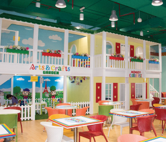 Kids Indoor Softplay Area Life Size Clubhouse Image