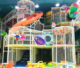 Kids Indoor Softplay Area Image